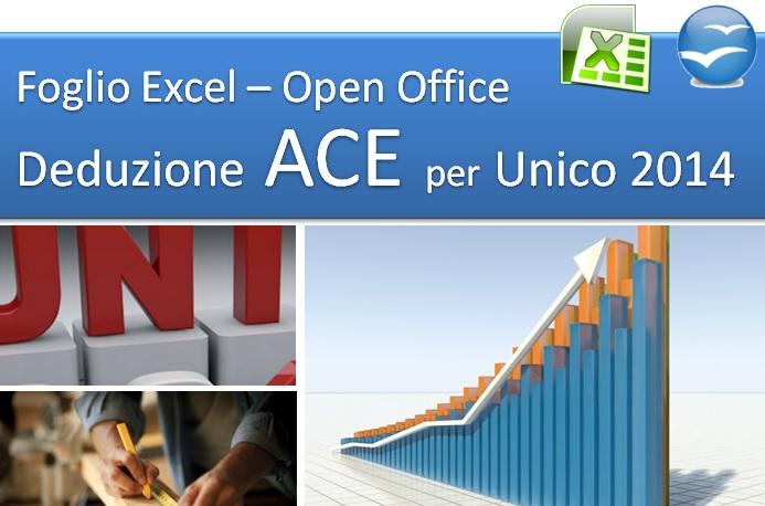 Deduzione ACE per Unico 2014